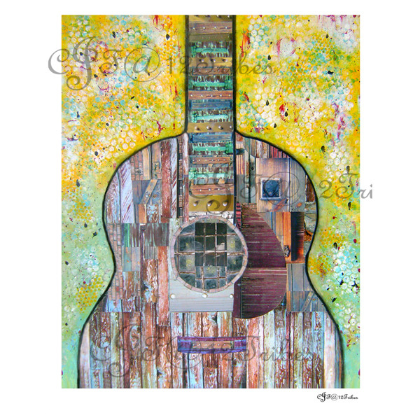 Rustic Guitar