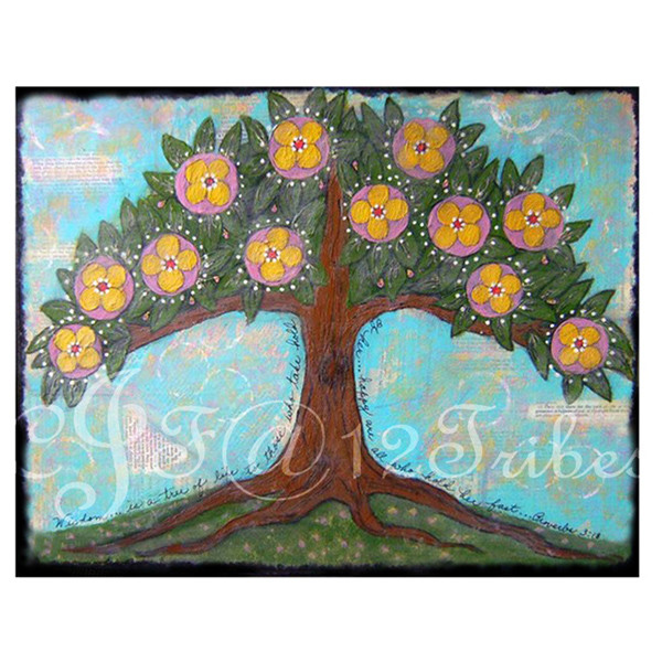 Tree of Life - folk art