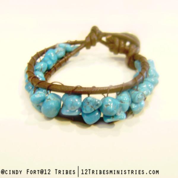 Wisdom - single wrap bracelet
