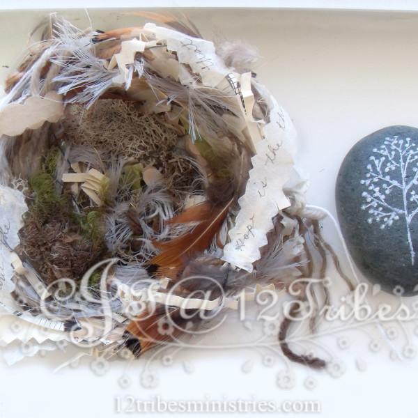 Artisan Fiber Bird Nest #5