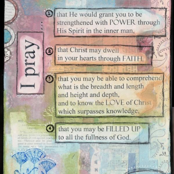 Ephesians 3_16-19
