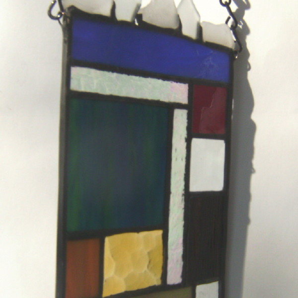 Mountain View - Stained Glass Panel view 5